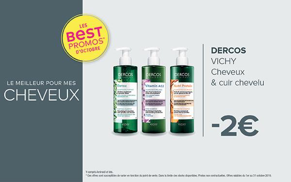 DERCOS - VICHY / Cheveux & cuir chevelu