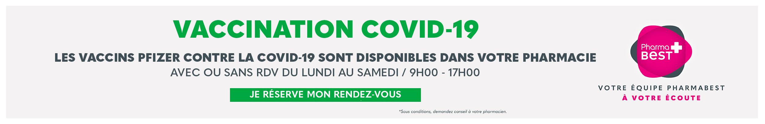 Vaccination COVID19 - Fort de France
