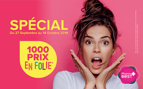 1000 PRIX EN FOLIE