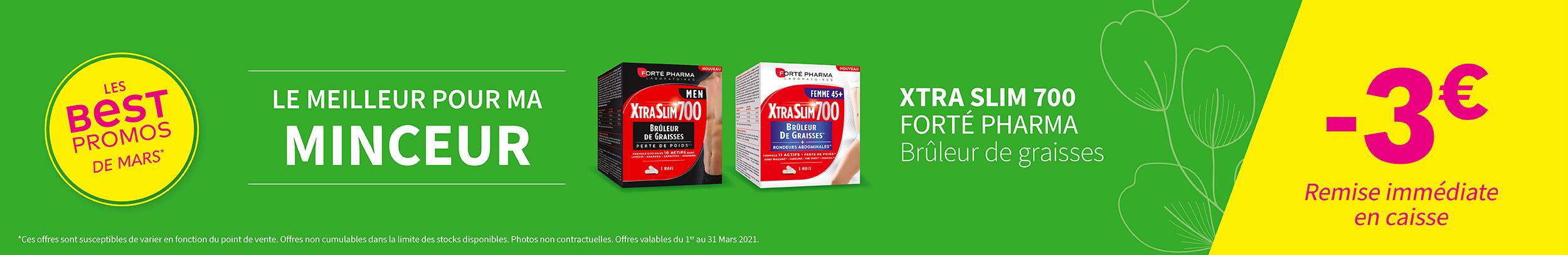XTRA SLIM 700 - FORTÉ PHARMA / Brûleur de graisses