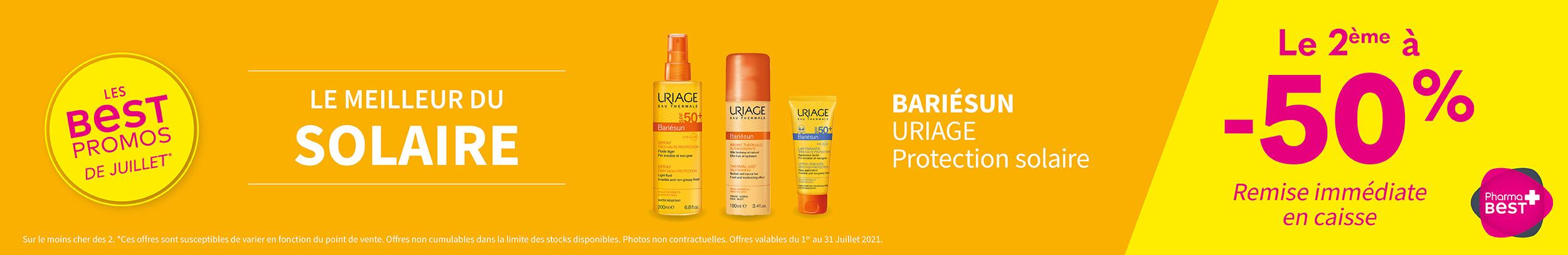 BARIÉSUN - URIAGE /  Protection solaire C&C