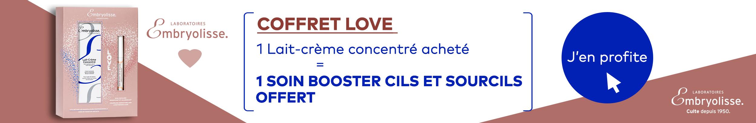 COFFRET LOVE - EMBRYOLISSE