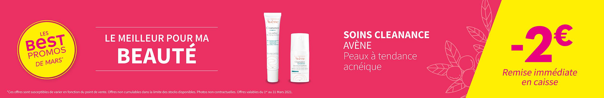 SOINS CLEANANCE - AVÈNE / Peaux à tendance acnéique