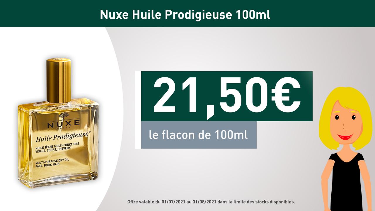 NUXE - Huiles Prodigieuses Flacon 100ml