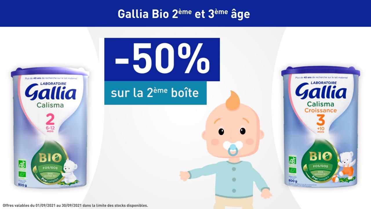 GALLIA  BIO 2ème & 3 ème Age