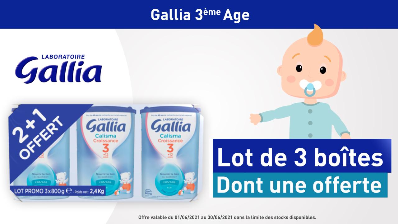 GALLIA Croissance Tripack