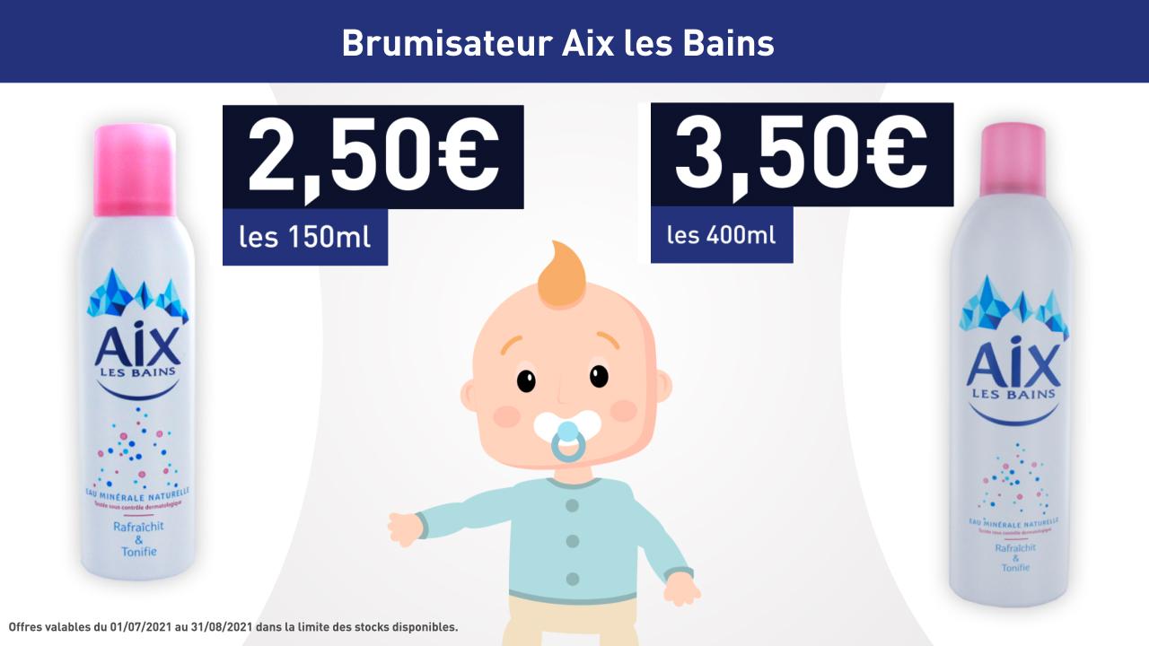 AIX LES BAINS - BRUMISATEUR 400ML