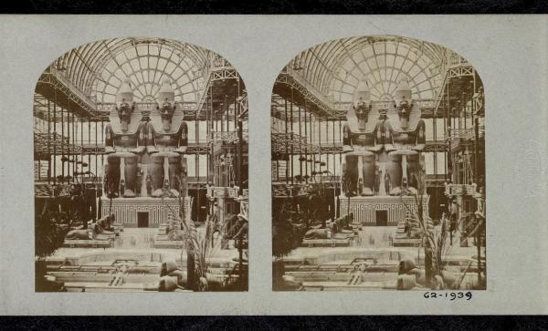 Stereoscopic image of the Great Exhibition
