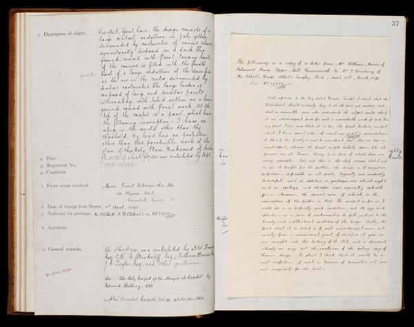 V&A Archive, MA/30/165, Museum Register No. 131. Science & Art Department.