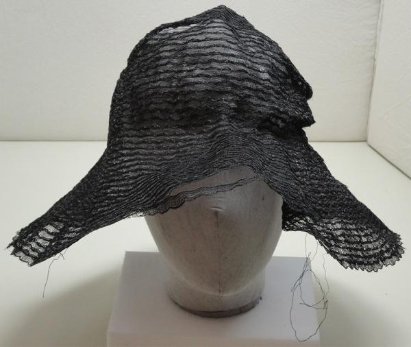 Front view of the hat before conservation. Museum no. Misc. 144A-1986. © Victoria and Albert Museum, London