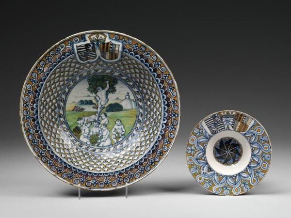 Maiolica Dish, 1485-1490