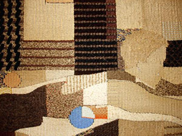 March Diver (detail), woven tapestry, William Jefferies, 1985