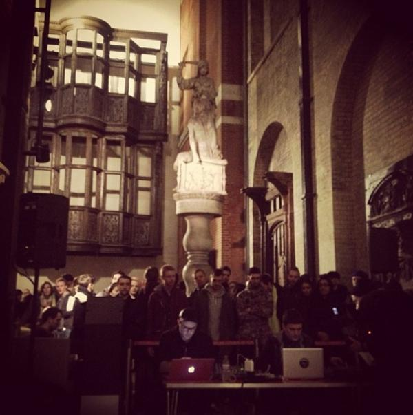 PAN performance at the V&A. © Boiler Room