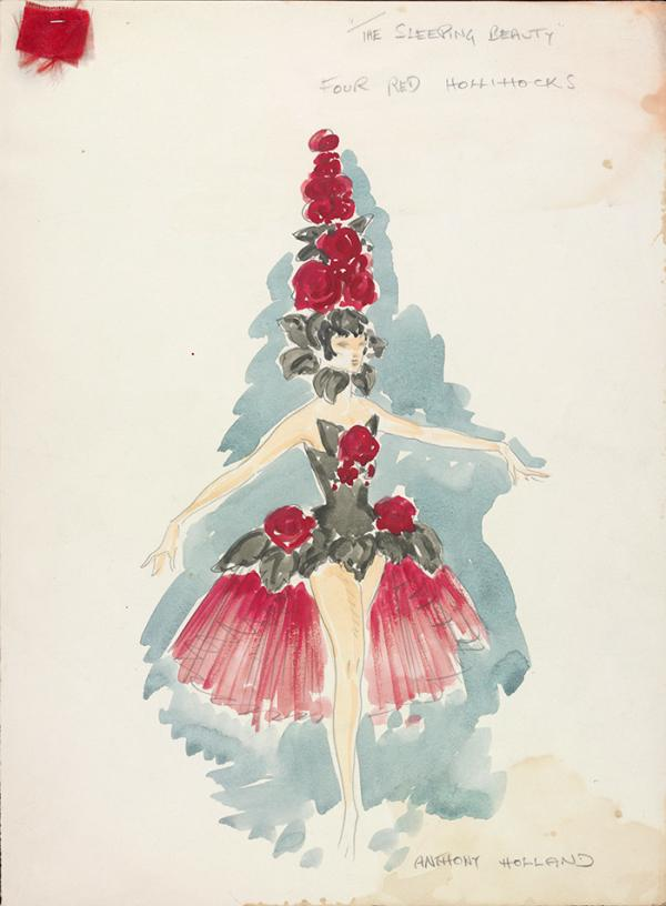 Costume design, Anthony Holland, 1972. Museum no. S.712-2000. ©Victoria and Albert Museum, London/The estate of Anthony Holland