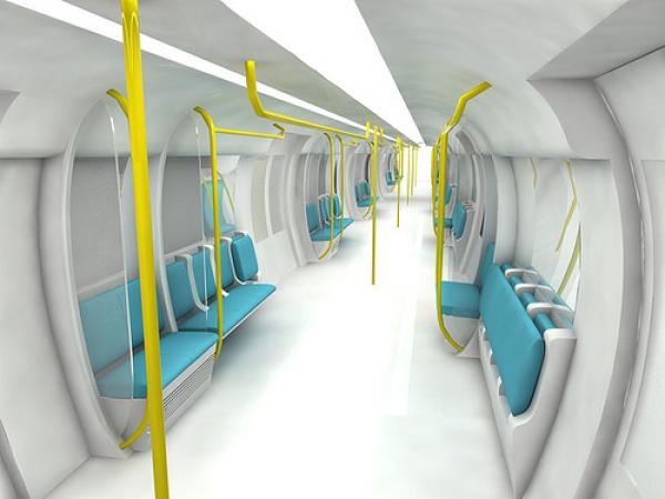 Lao Jinahua - Tube train-4 (concept design)