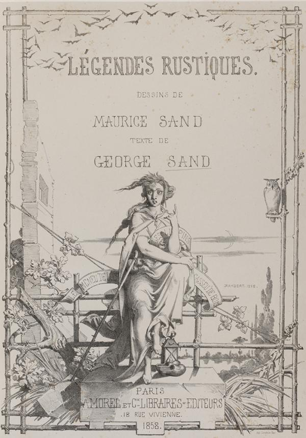 Frontispiece for George Sand, 'Legendes Rustique', 1858. NAL 38041800160053, © Victoria and Albert Museum, London