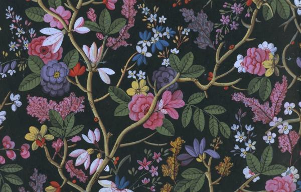 Design from an album of designs for printed textiles, William Kilburn, 1788-1792. Museum no. E.894:122/2-1978. © Victoria and Albert Museum, London.