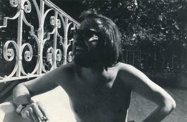 Ian, somewhere in Chelsea, the early 70s. © Ian Rakoff