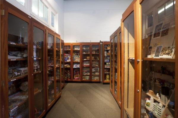 The Paolozzi store prior to its conversion into the new reception area