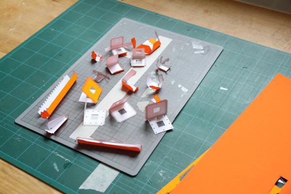 paper model parts