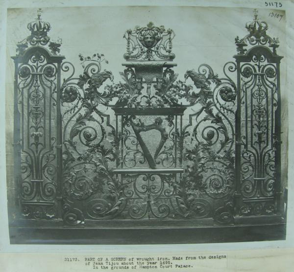 Section of the Hampton Court Screen, ca. 1891