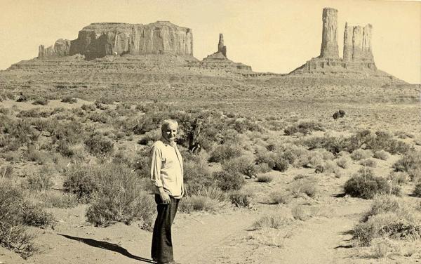 Lindsay Anderson, Monument Valley, 1968. © Ian Rakoff