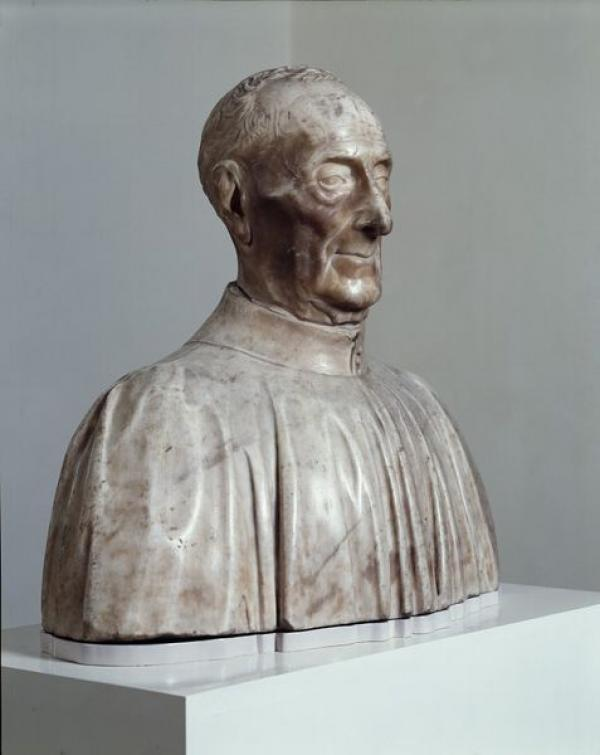 Bust of Giovanni Chellini, 1456