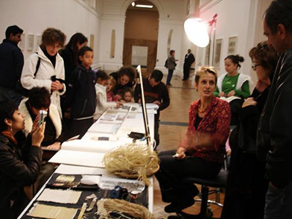 Demonstration in gallery 101