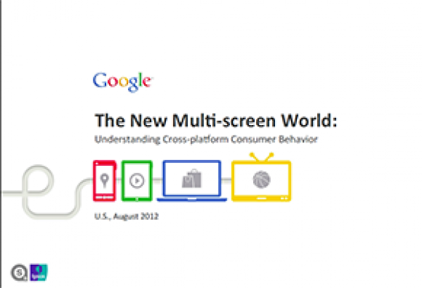Cover of report: Google - The new multi-screen world