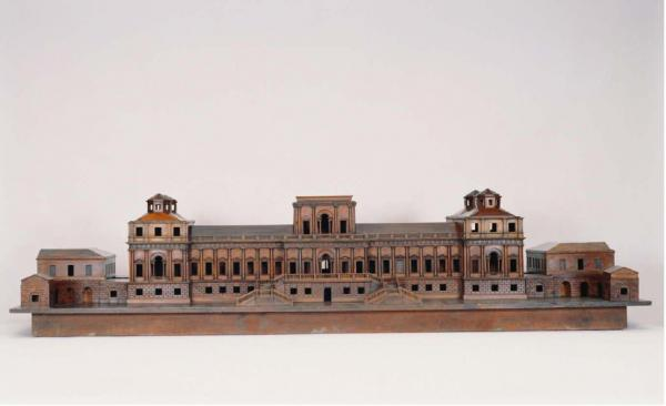 John Marsden, after a design by William Kent. Model of a proposed new palace for Richmond, 1735. Pearwood. Courtesy of Royal Collection Trust © Her Majesty Queen Elizabeth II, 2014