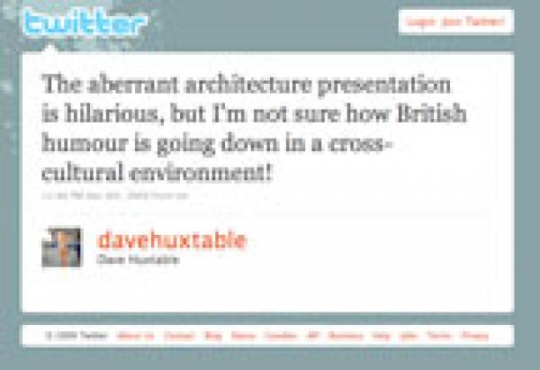 Dave Huxtable's Tweet