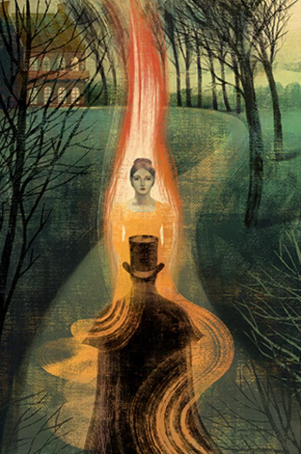 Anna and Elena Balbusso, illustrations for Eugene Onegin by Alexander Pushkin, published by the Folio Society, London, 2012