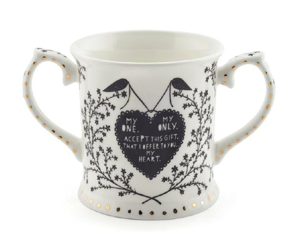 Loving Cup by Rob Ryan © Victoria and Albert Museum, London
