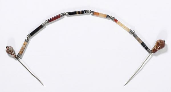 Pin, unknown maker, Scotland, 1845 - 1855. Museum no. M.136-1978. © Victoria and Albert Museum, London.