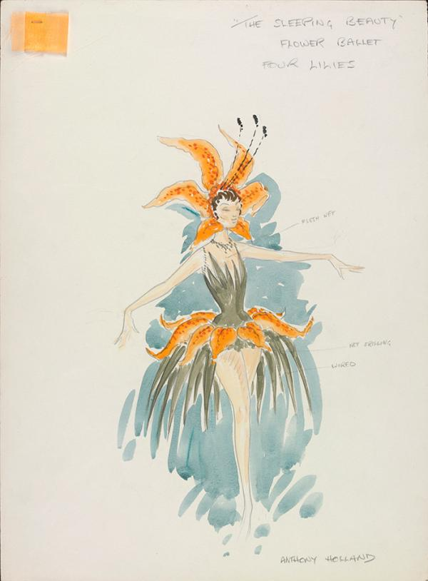 Costume design, Anthony Holland, 1972. Museum no. S.711-2000. ©Victoria and Albert Museum, London/The estate of Anthony Holland.