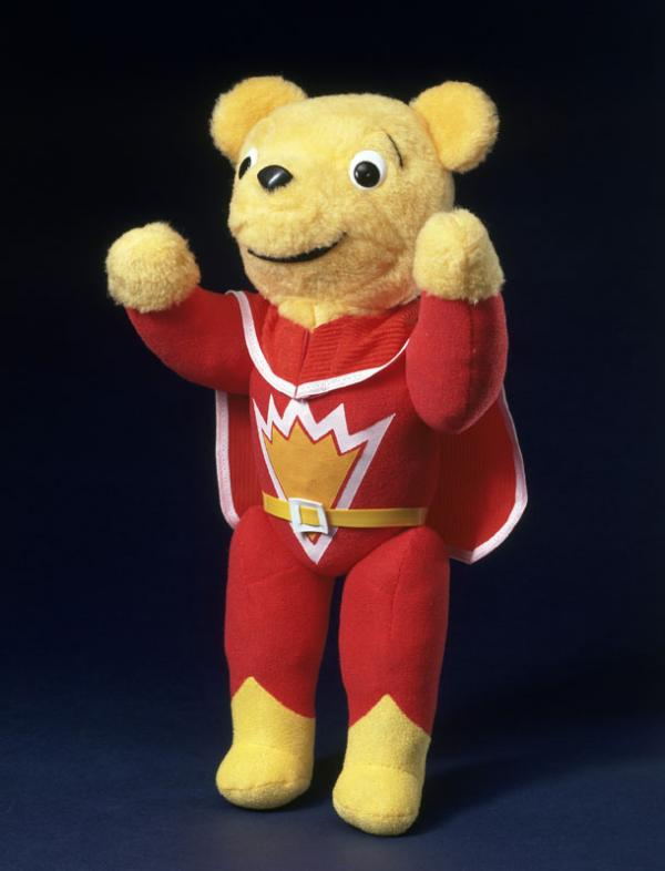 Superted, unknown maker, Wales, 1984. Museum no. MISC.561-1984