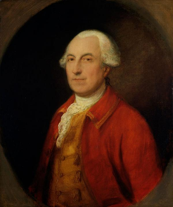 John Purling (1727-1801), Oil Painting, by Thomas Gainsborough, about 1770 – 1780. Museum no P.28-1970. © Victoria and Albert Mu