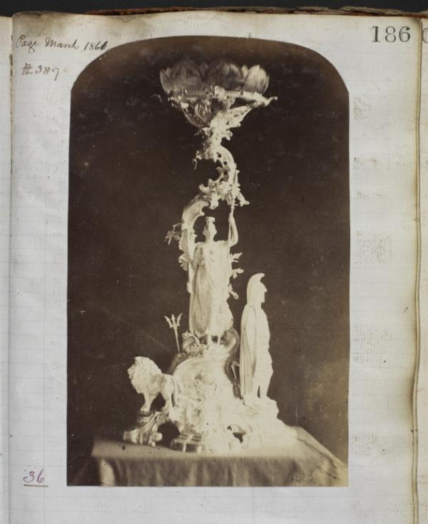 Photograph of centrepiece