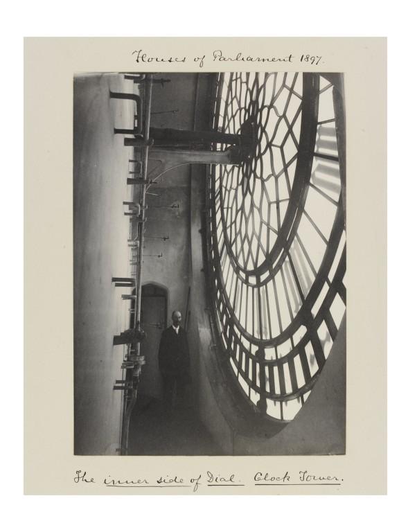 Photograph of inside Big Ben