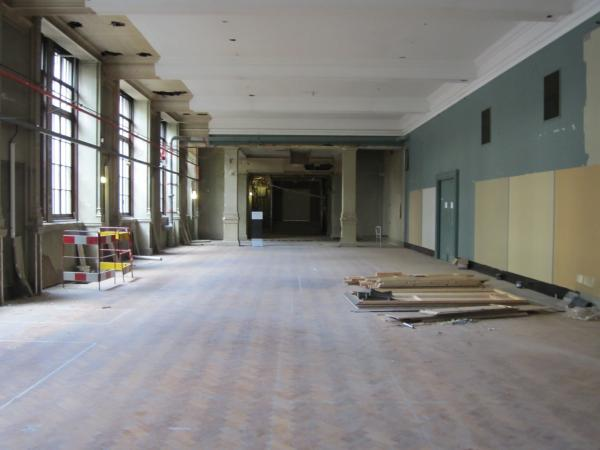 Gallery 1: Looking towards the subway entrance