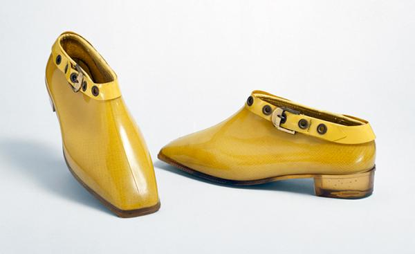 Pair of ankle boots, Mary Quant, 1967. Museum no. T.59:1, 2-1992. © Victoria and Albert Museum, London.