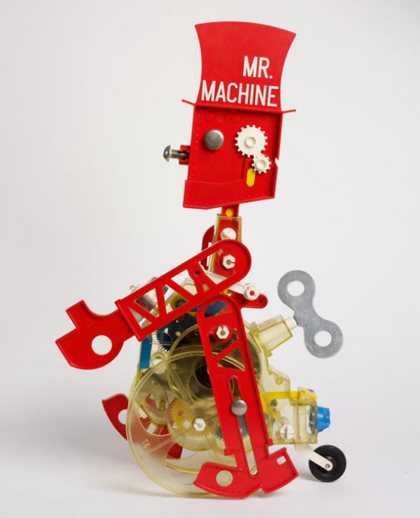 Mr Machine designed by Edouard Paolozzi