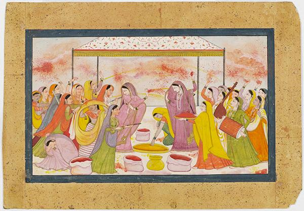 Radha, unknown artist, 1788. Museum no. IS.9-1949. © Victoria and Albert Museum, London.