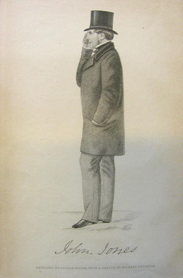 Engraving of John Jones