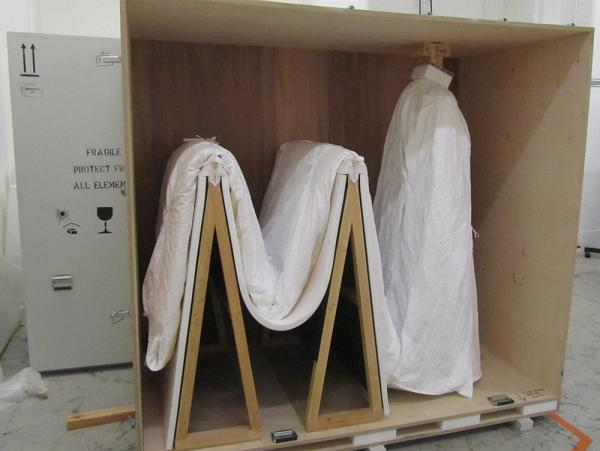 Into the crate and almost ready to ship. © Victoria and Albert Museum, London