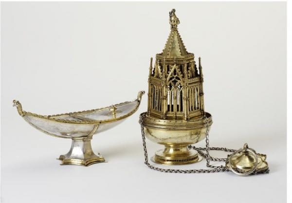 The Ramsey Abbey censer and Incense Boat