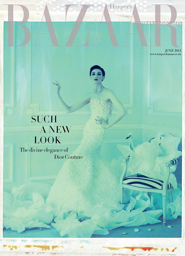 June 2013 issue of Harper's Bazaar exclusive to the V&A