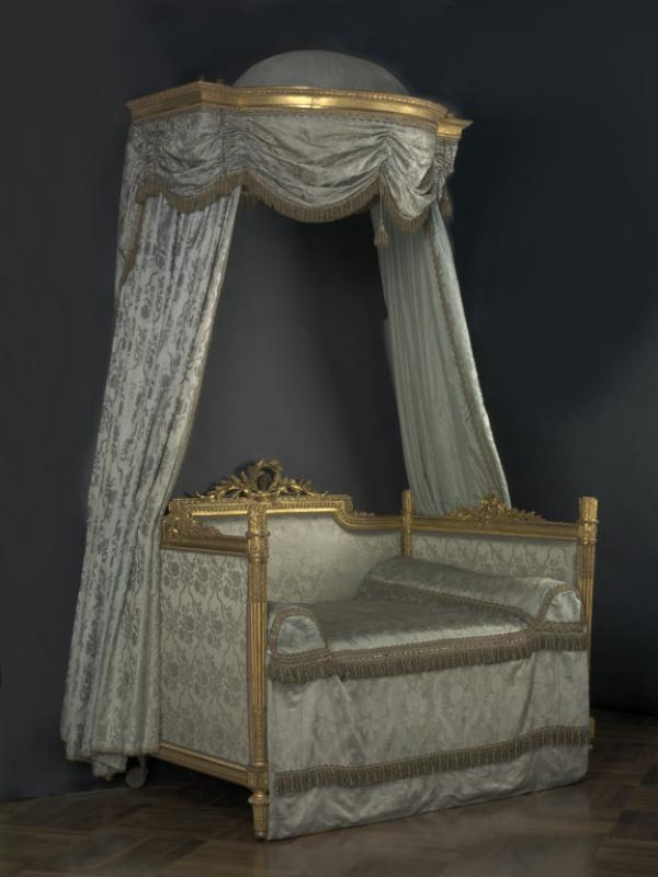 Bed ('Lit à la polonaise'), Stamped 'G. JACOB', French (Paris), about 1780 [8459