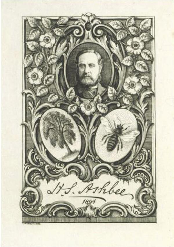Ashbee 19th century rebus.