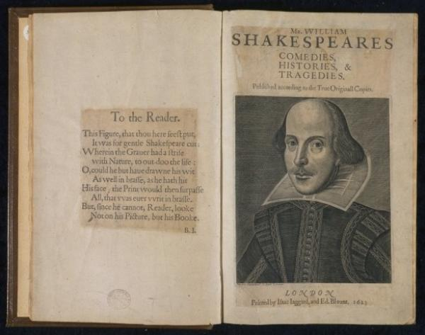 Dyce copy of Shakespeare's First Folio